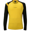 La Sportiva Hero Long Sleeve Shirt Men Black/Yellow